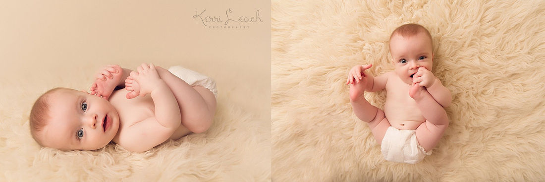 KERRI LEACH PHOTOGRAPHY-EVANSVILLE IN PHOTOGRAPHER-6 MONTH MILESTONE SESSION-MILESTONE SESSION IDEAS