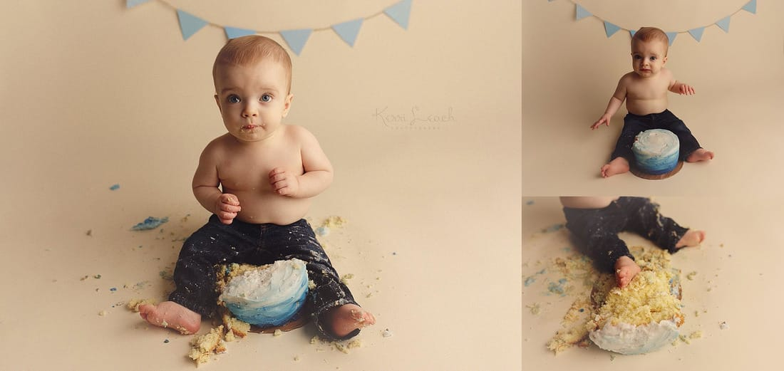 Evansville, IN newborn, baby, family photographer- 1 year session-1 year smash cake session