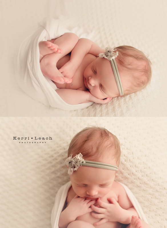 Newborn bean bag pose flow | Newborn mentoring| Newborn posing| Newborn photography| Kerri Leach Photography| Evansville, IN newborn photographer | Owensboro newborn photographer