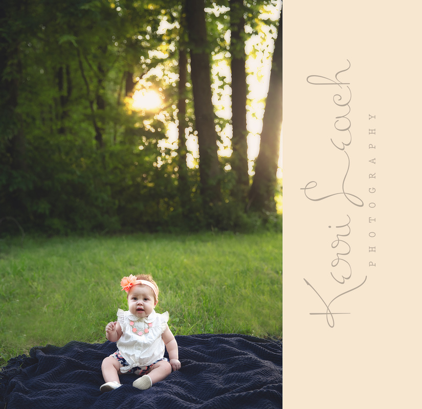 KERRI LEACH PHOTOGRAPHY-EVANSVILLE IN NEWBORN, BABY PHOTOGRAPHER-9 MONTH MILESTONE SESSION-OUTDOOR MILESTONE SESSION-EVANSVILLE IN PHOTOGRAPHER