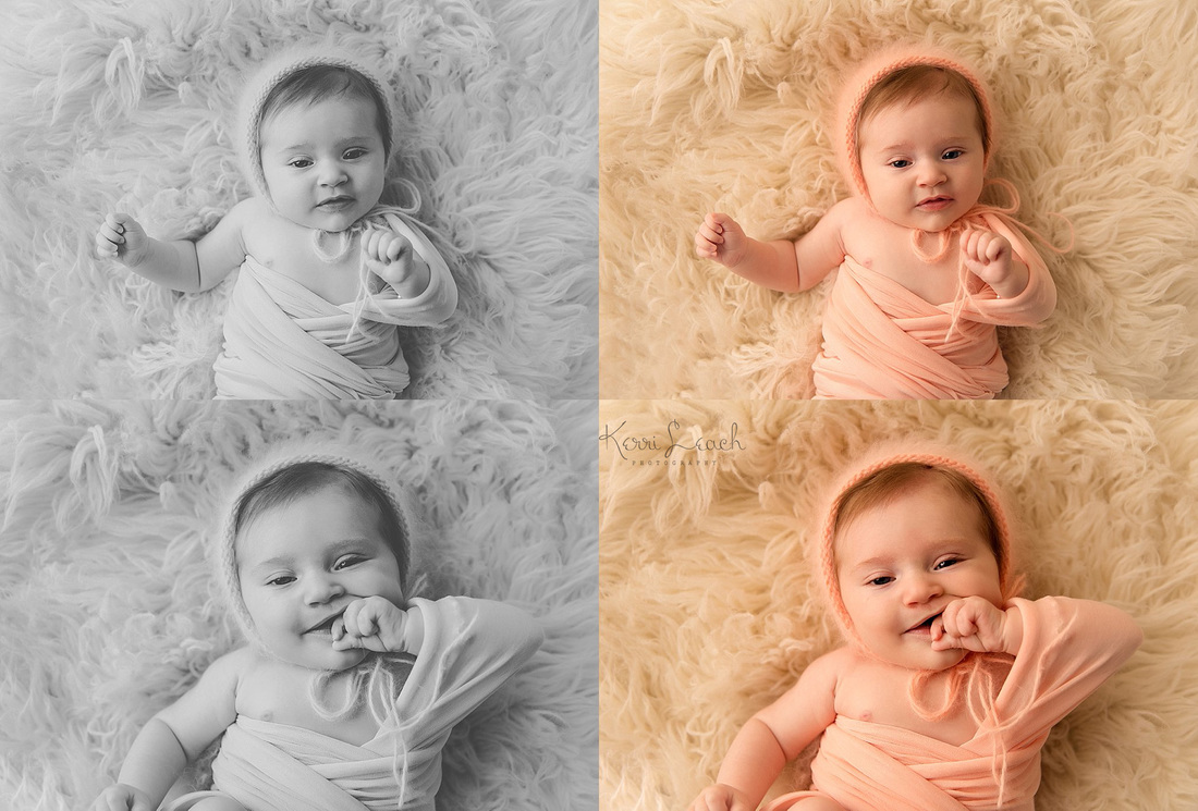 Kerri Leach Photography-3 month milestone session-Evansville IN milestone session-Evansville IN photographer