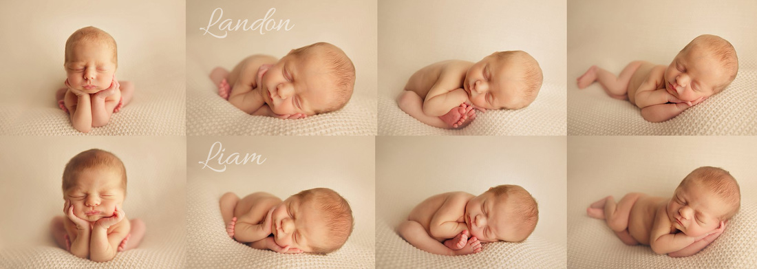 Kerri Leach Photography-Twin newborn session-Evansville IN newborn session-Twin newborn session ideas
