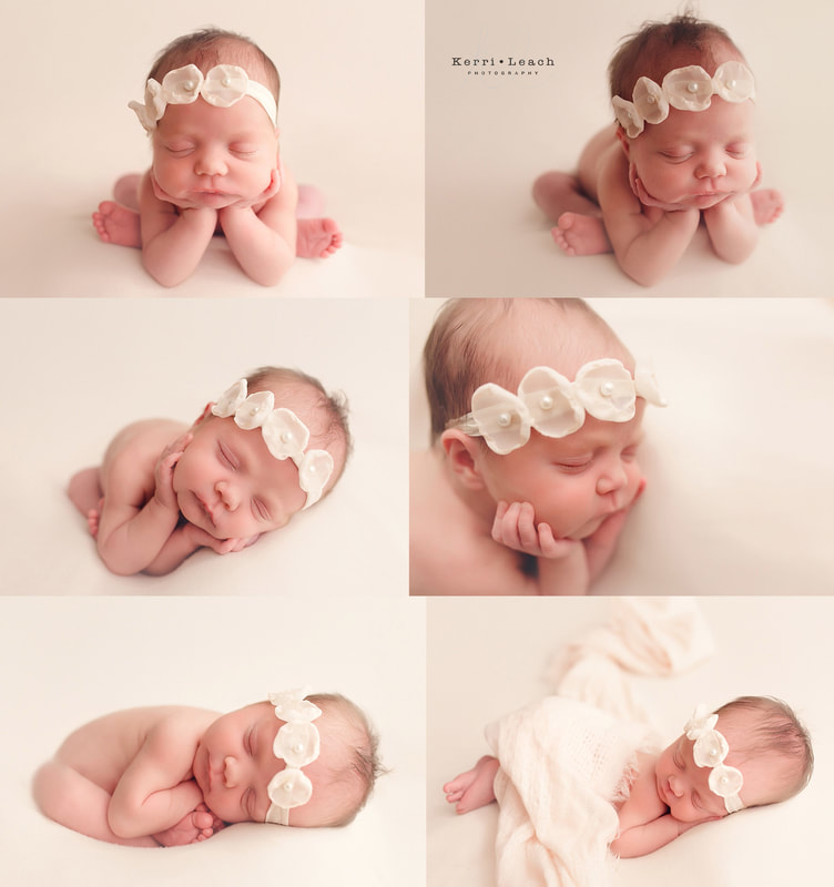 Kerri leach photography newborn bean bag poses newborn posing evansville owensboro area