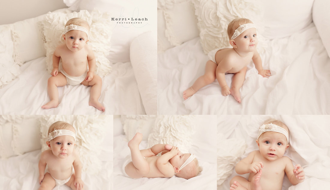 Kerri Leach Photography | 9 month milestone session | 9 months old | Evansville, IN photographer