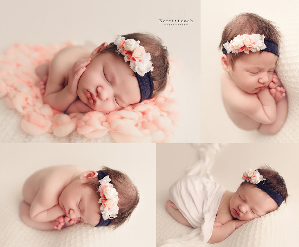Newborn bean bag posing newborn photographer evansville in owensboro area newborn photographer