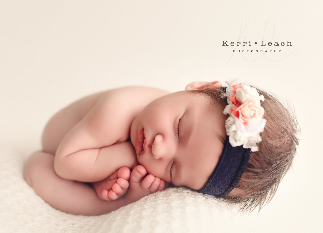 Newborn bean bag posing | Newborn photographer Evansville, IN | Owensboro area newborn photographer | Indiana newborn photographer